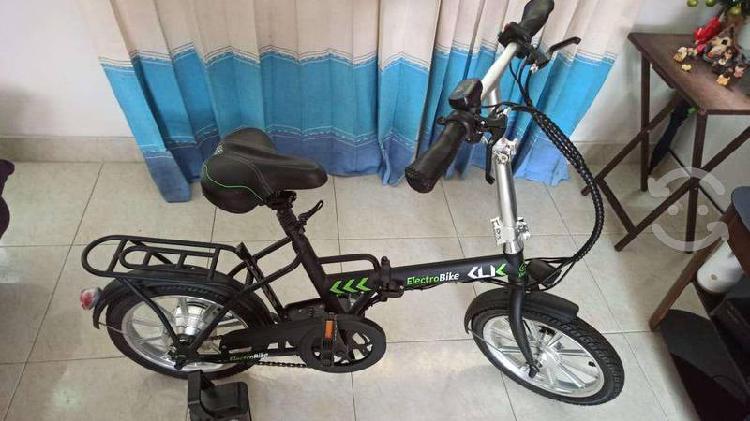 Bicicleta electrica *electrobike click (plegable)