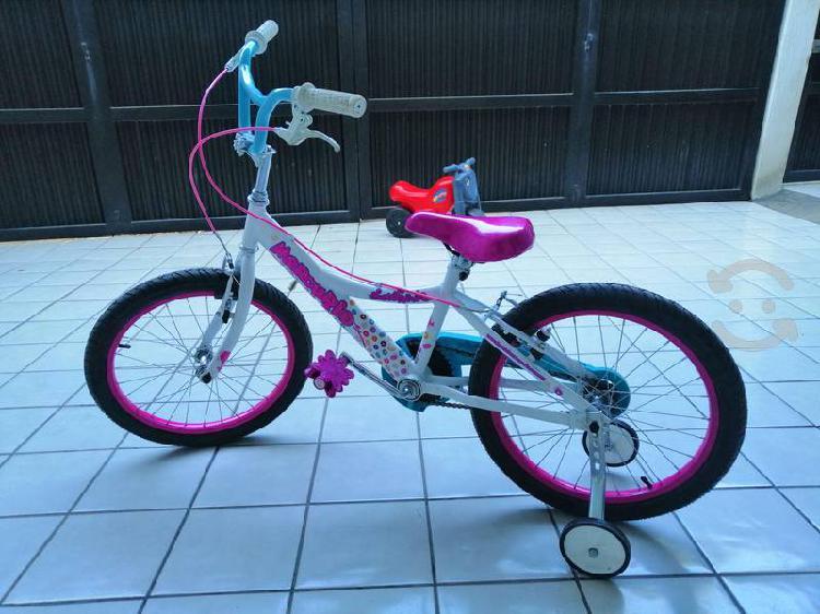 Cambio bici nueva rodado 18