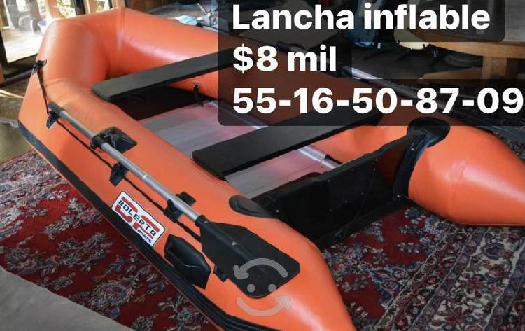 Lancha inflable