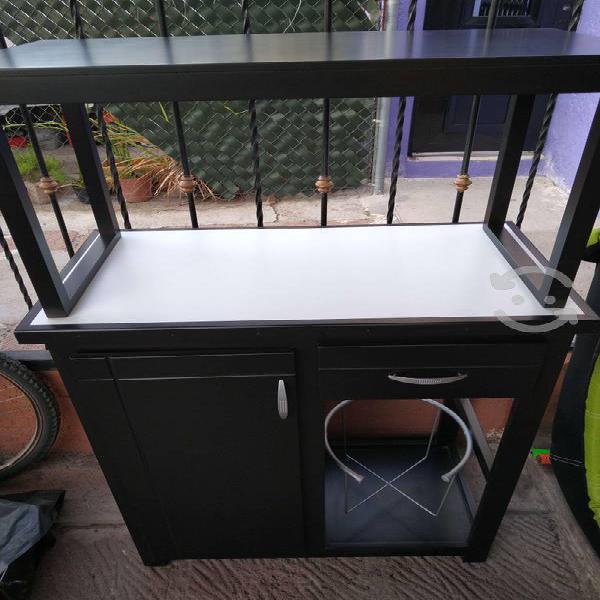 Mueble para garrafón y horno con alacena