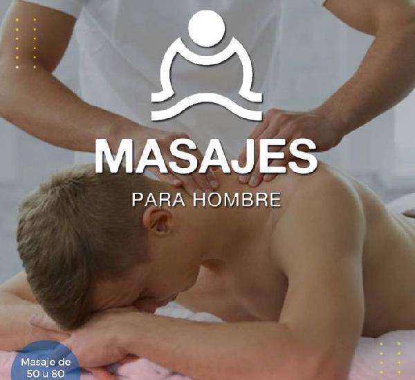 Masaje hombre a hombre Guadalajara