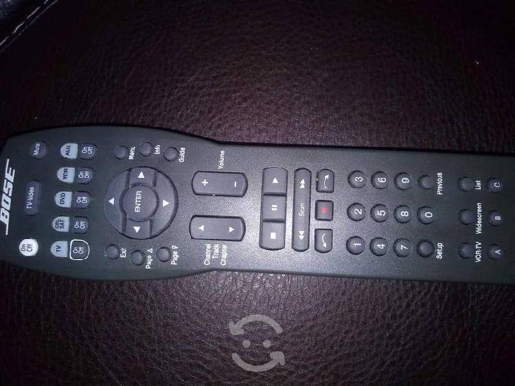 Bose solo cinemate universal remote black