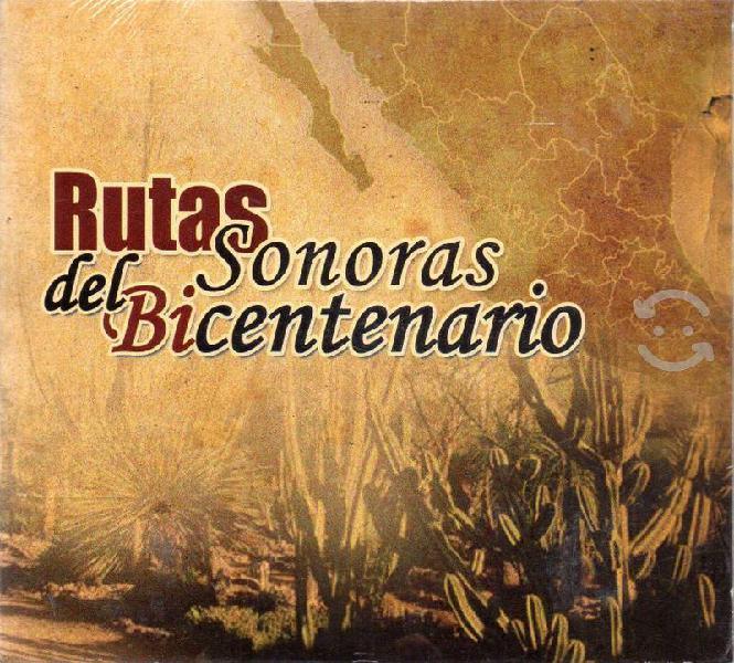 Cd - rutas sonoras del bicentenario - fonoteca cd