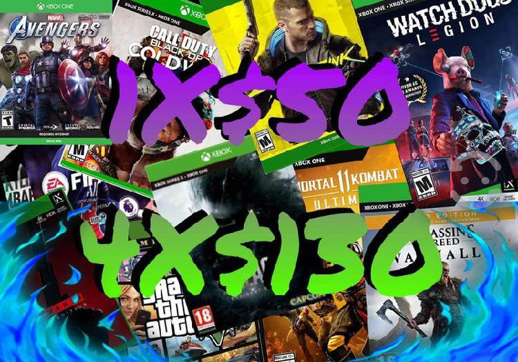 Juegos digitales xbox