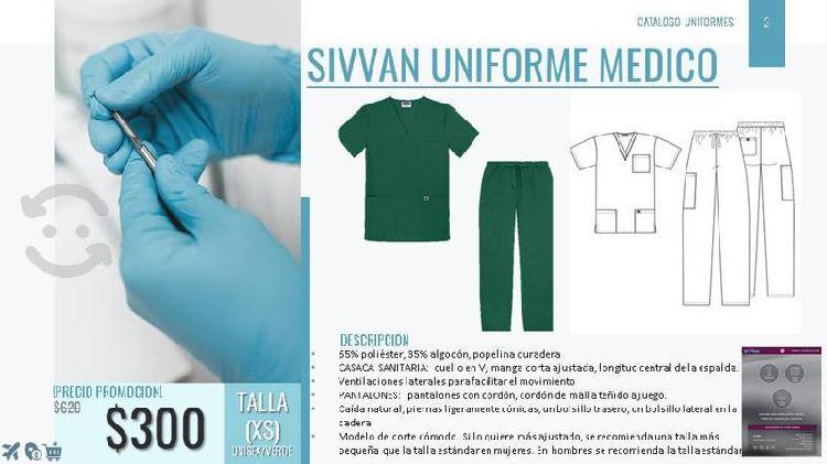 Uniformes medicos quirurgicos