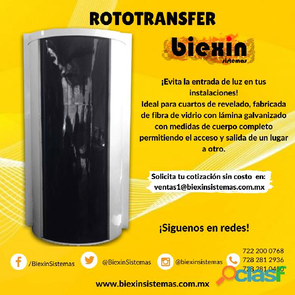 Rototransfer (evita la entrada de luz)
