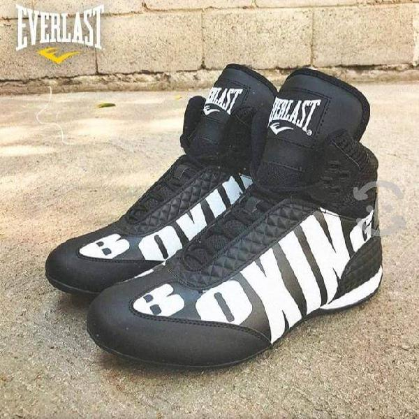 Everlast boxing round 1 de color negro