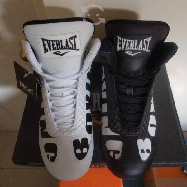 Everlast boxing round 1 en negro blanco