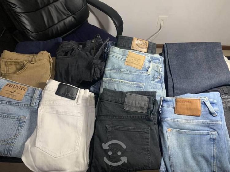 Lote 16 pantalones joven impecables originales