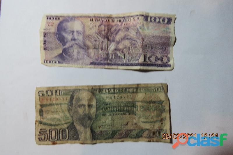 Vendo monedas y billetes antiguos 10