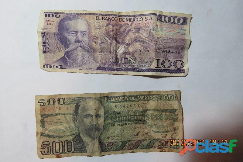 Vendo monedas y billetes antiguos 12