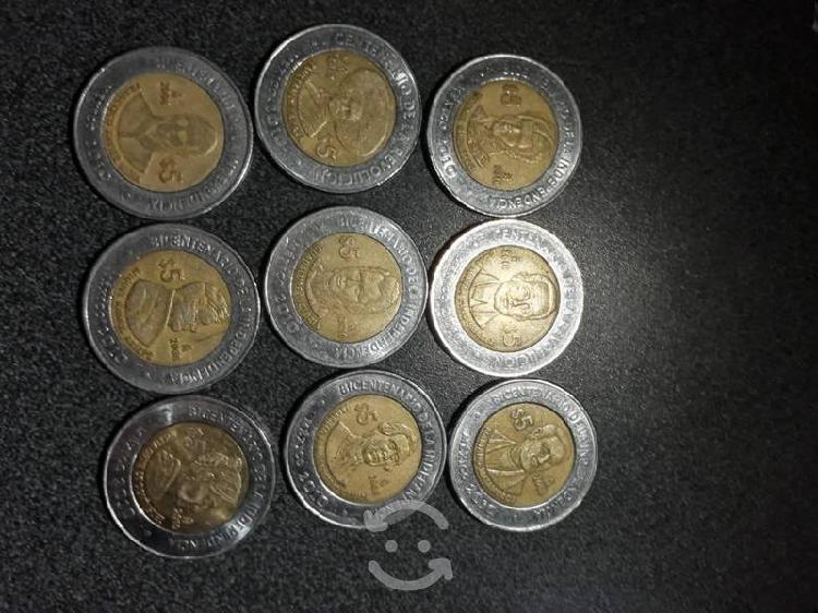 Monedas conmemorativas de la revolución mexicana