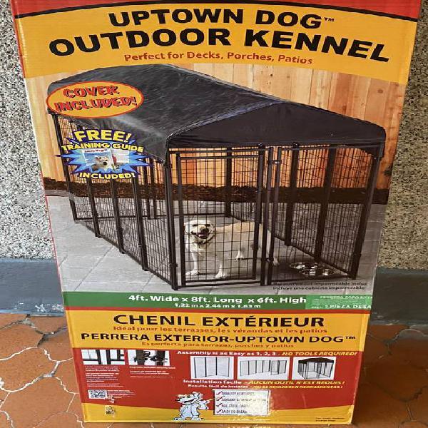 Jaula grande para perro exteriores