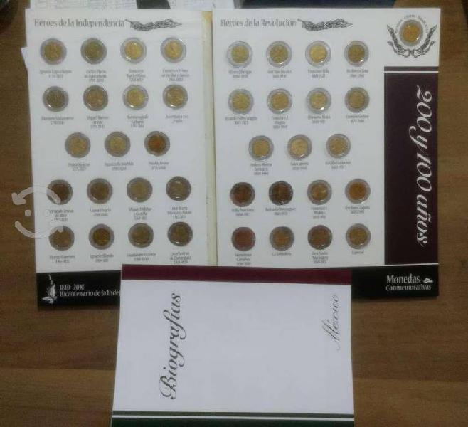 Album coleccion 39 monedas bicentenario