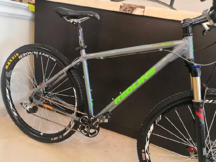 Bicicleta mtb redline 29 frenos de disco como nva.