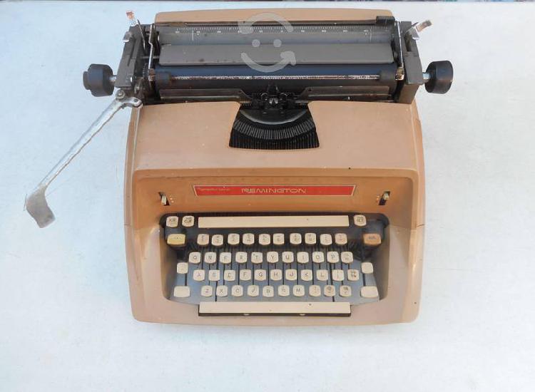 Maquina escribir vintage remington 1966