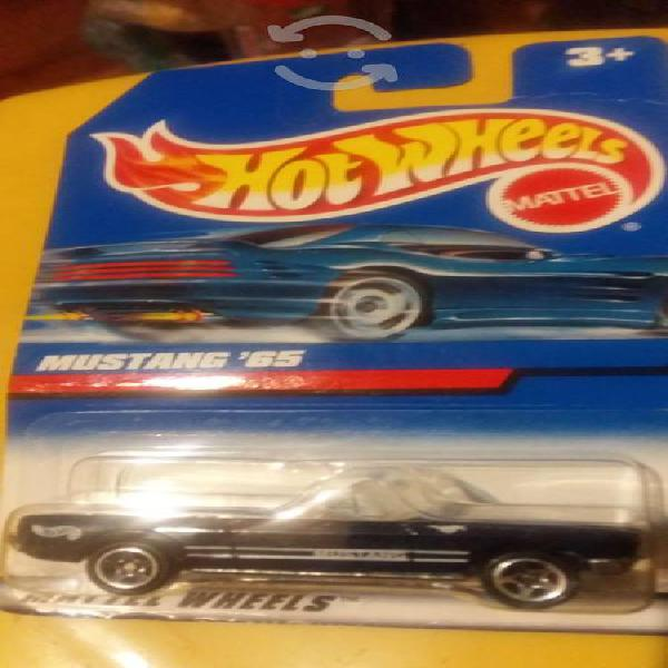 Mustang clásicos set hotwheels