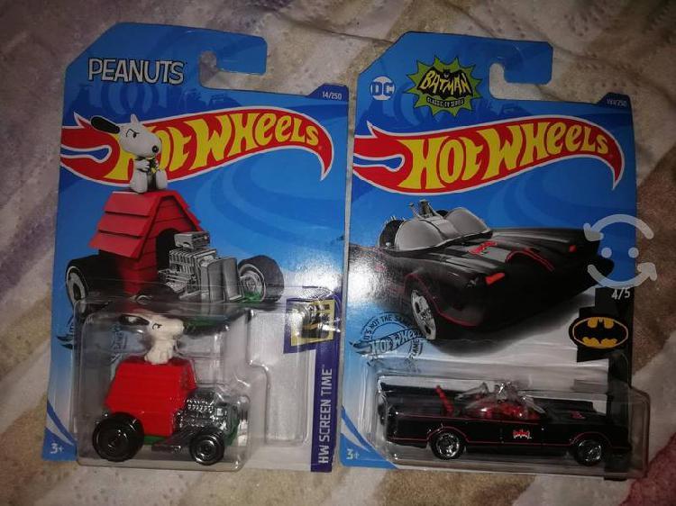 Hot wheels de colección