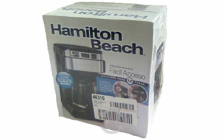 Cafetera hamilton beach programable