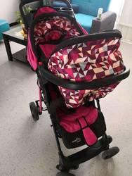 Carriola y silla para auto