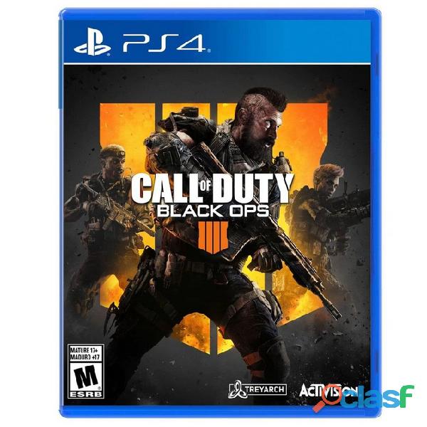 Call of duty: black ops 4 standard edition físico ps4 (envio incluido)