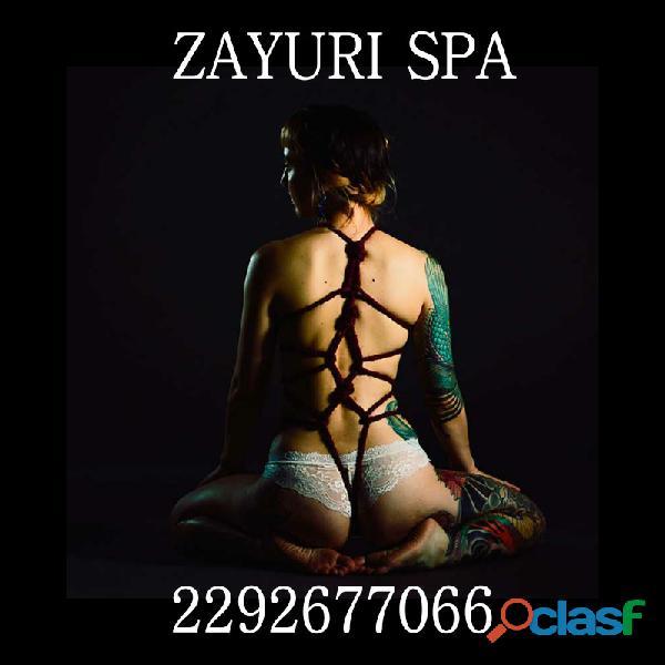 Discreción, seguridad y la mejor higiene esta en Zayuri Spa ..