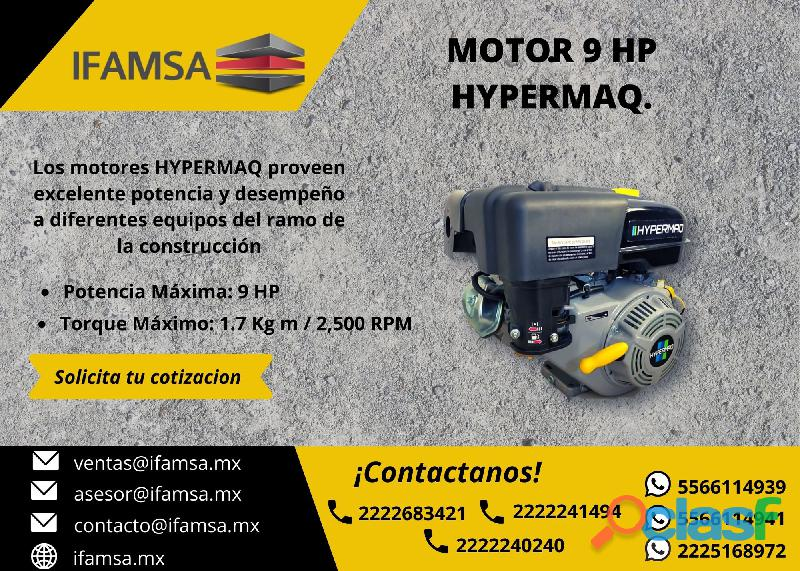 MOTOR HYPERMAQ 9 HP