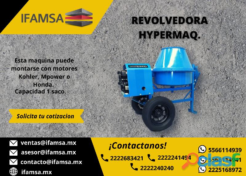 REVOLVEDORA HYPERMAQ 1 SACO