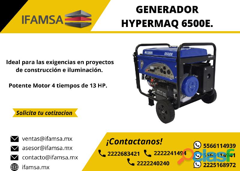 GENERADOR HYPERMAQ 6.5 KW