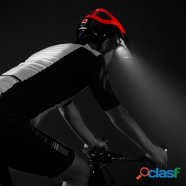 Casco de ciclismo con luz de advertencia MTB 2