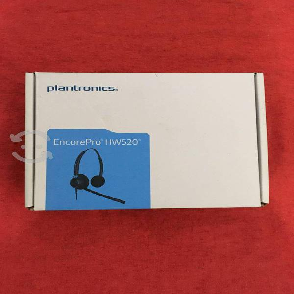 Diadema plantronics encorepro hw520 nueva