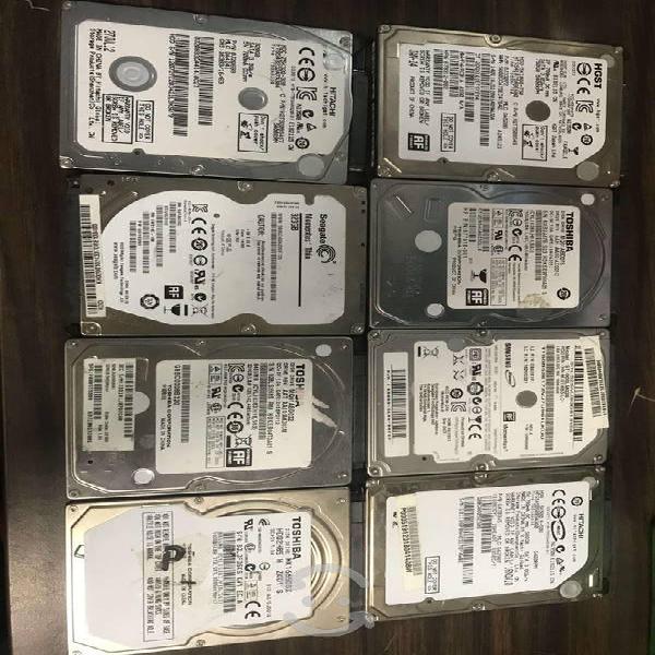 Discos duros varios 1tb, 750gb, 500gb 2,5