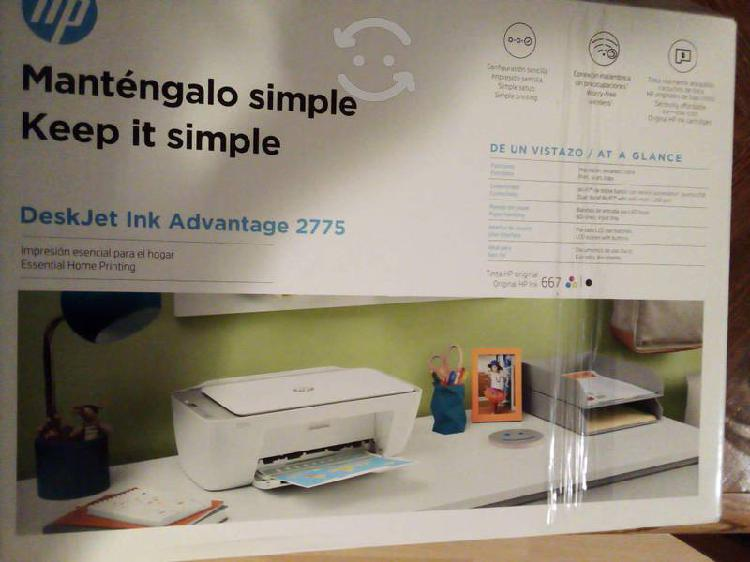 Impresora hp deskjet ink advantage 2775