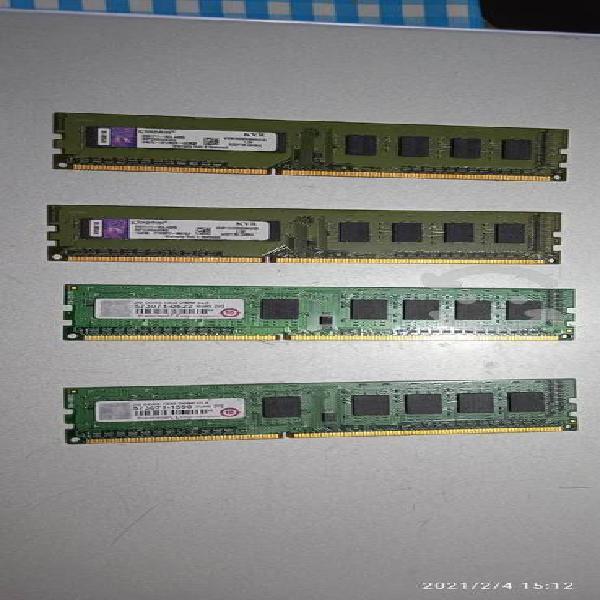 Memoria ram kingston ddr3 1333 2 gb