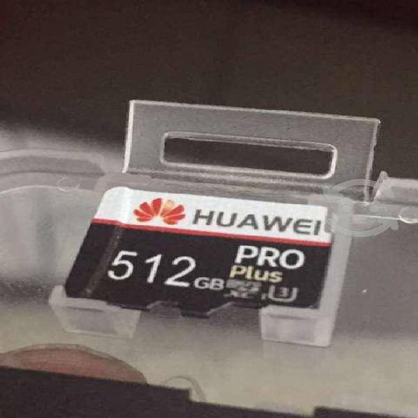 Micro sd 512gb, clase 10 nuevas!