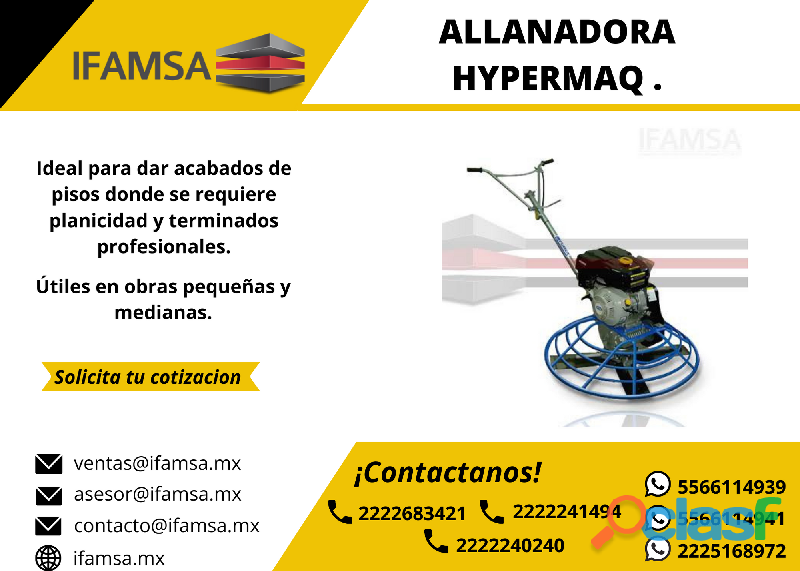 "ALLANADORA 36"" HYPERMAQ JC436"