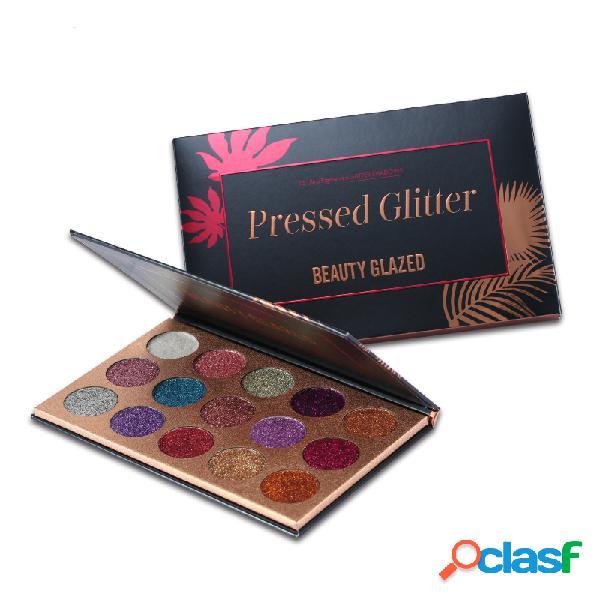 Beauty glazed paleta de sombras de ojos brillante duradero