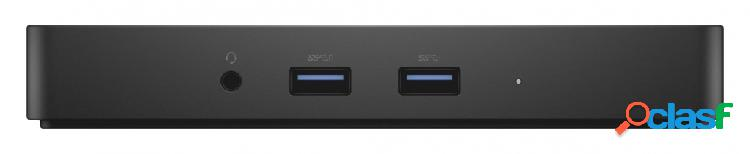 Dell docking station wd15, 3x usb 3.0, 2x usb 2.0, 1x hdmi, negro