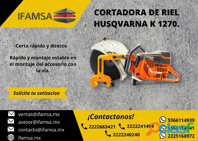 CORTADORA DE RIEL HUSQVARNA K1270