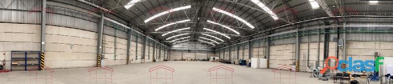 Nave Industrial de mas de 3000 m2 frente a la planta de la VW Puebla
