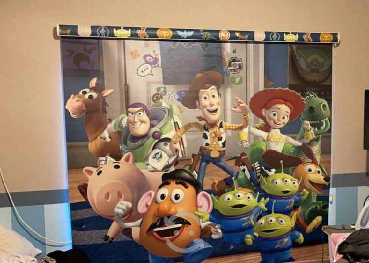 Persianas enrrollables toy story