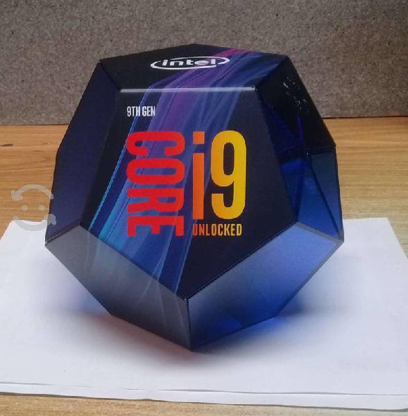 Procesador gamer intel core i9 9th generacion