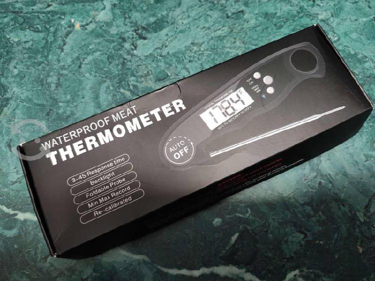 Termometro digital de cocina resistente al agua