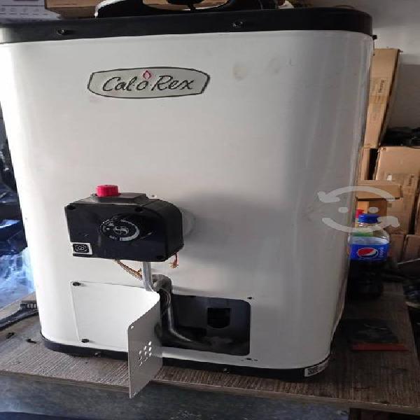 Boiler calorex de paso para 2 servicios