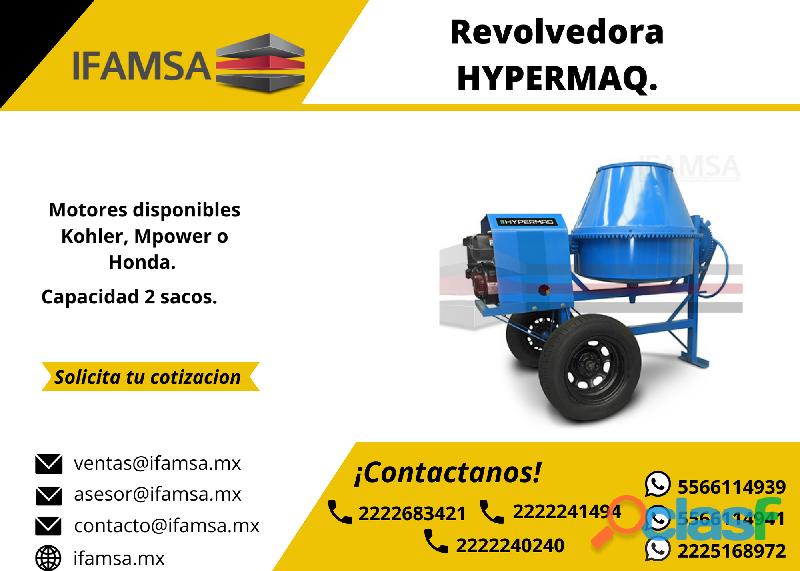 REVOLVEDORA MCA. HYPERMAQ 2 SACOS EN DOS BOCAS