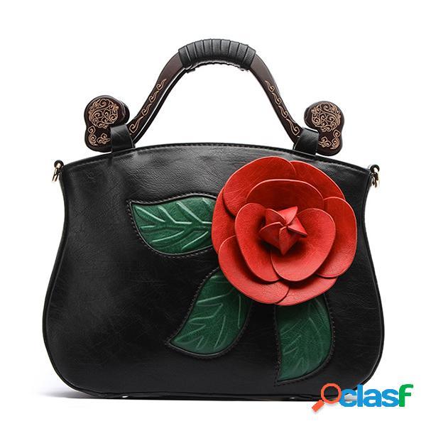 Brenice vendimia pu cuero rosa bolso decorativo crossbody bolsa para mujer