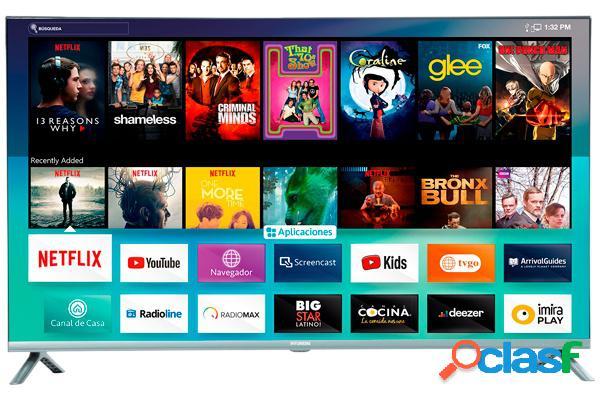 "Hyundai smart tv led hyled4021nim 40"", full hd, widescreen, negro"