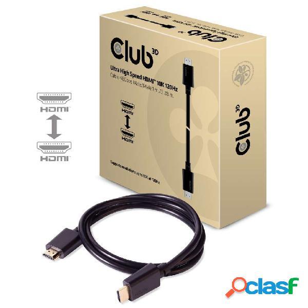 Club 3d cable hdmi macho - hdmi macho, 1 metros, negro