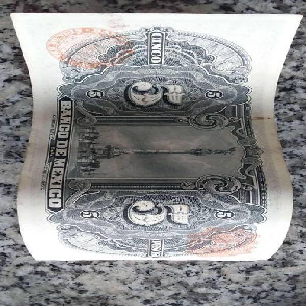 2 billetes de $5 antiguos