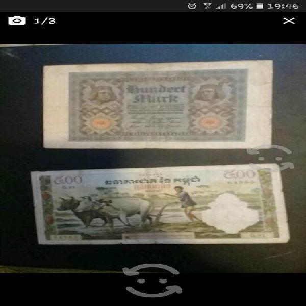 Billetes de colección de todo el mundo baratos